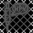Hpv Speech Icon
