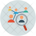 Hr Employee Selection Icon