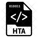 Hta File Format Icon