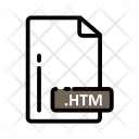 Htm Document Extension Icon