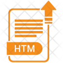 Htm File Format Icon
