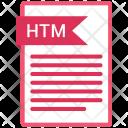 Htm file Icon