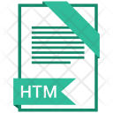 Htm Format Document Icon