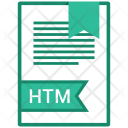 Htm Document File Icon