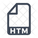 Htm File Document Icon