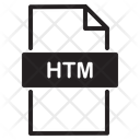 Htm Format Icon