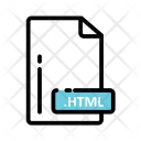 Html Document Extension Icon