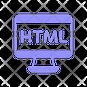 Html Coding Programming Icon