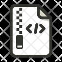 Html Compressed Gzip Icon