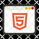 Html Website Code Icon
