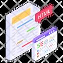 Web Programming Coding Website Web Seo Icon