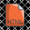Html Code File Icon