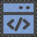 Html Coding Language Icon