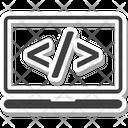Html Code Web Icon