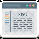 Html Coding Icon