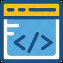 Web Development Html Icon