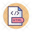 Html Document Html Document Icon