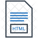 Html Document File Icon