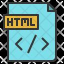 Html File Code Icon