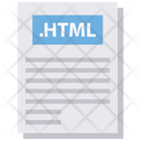 File Html File File Type Icon