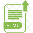 Html File Format Icon