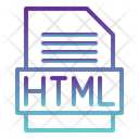 Html File Html Coding Icon