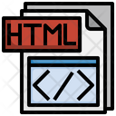 Html File File Folder Icon