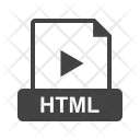 Html File Extension Icon