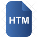 Html Web File Icon