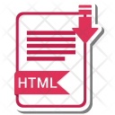 Html Extension File Icon
