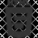Html Five Html Social Media Icon