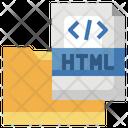 Html Folder Html File Programming Folder Icon