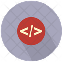 Html Code Angle Bracket Line Icon