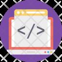 Html Page Web Icon