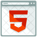 Html 5 Security Webpage Icon