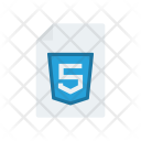 Html 5 File Document Icon