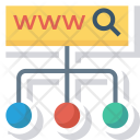 Http Link Search Icon