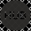 Hub Network Icon