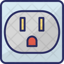Hub Computer Equipment Network Outlet Icon