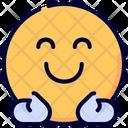 Hug Emot Emoji Icon