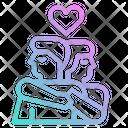 Hug Lover Couple Icon