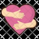 Hug Emoji Amazed Icon
