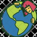 Hug Earth Hug Love Earth Icon