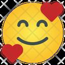 Hug Love Emoticon Icon