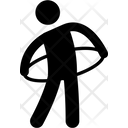 Hoop Hula Waist Icon