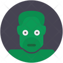 Hulk Green Monster Head Avatar Comics Icon