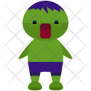 Hulk Man Avatar Icon