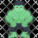 Hero Superhero Cartoon Character Icon