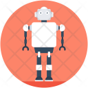 Human Robot Robotic Icon