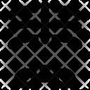 Human Ribs X Ray Icon